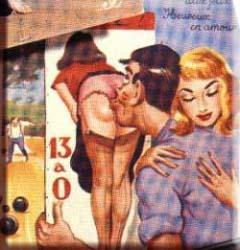 Embrasser des images de cul