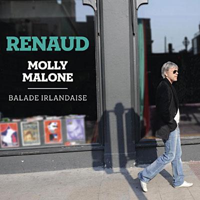 Visuels de l'album Molly Malone de Renaud X Album Cover