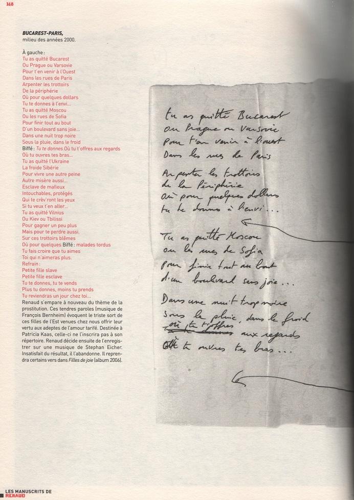 Paroles de la chanson Fille D'ouvriers par Michle Bernard